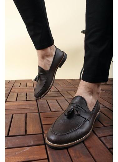 Oksit Ayakkabı Kahve